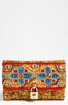 Dolce&Gabbana 'Miss Dolce - Greek Mosaic' Shoulder Bag