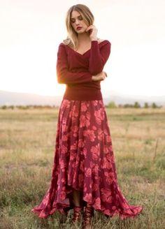 *NEW* Julianna Skirt in Berry