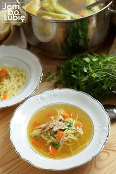 Best Soup Recipes, Vegan Recipes, Vegan Gains, Good Food, Yummy Food, Polish Recipes, Ketogenic Recipes, Food And Drink, Tasty