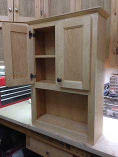 Bathroom Wall Cabinet - by pgheyd @ LumberJocks.com ~ woodworking community