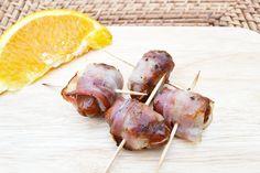 Eine geniale #Vorspeise sind Datteln im Speckmantel. Das #Rezept für spanische Tapas, die schnell und einfach zubereitet werden.