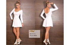 Vestido Colombianos PitBull +Modelos en: http://www.ropadesdecolombia.com/index.php?route=product/category&path=77  #vestido #corto #ropa #moda #verano #blanco #fiesta #eventos #elegante #sexy