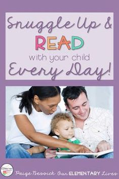 Snuggle Up & Read With Your Child Every Day!