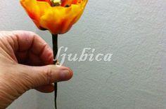 Šečerno cvijeće, ukras za torti