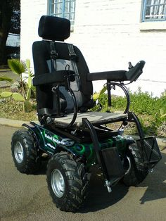 Predator 4 x 4 Power Wheelchair by Radical Mobility. >>> See it. Believe it. Do it. Watch thousands of SCI videos at SPINALpedia.com