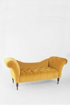 Antoinette Fainting Sofa - Antique Gold