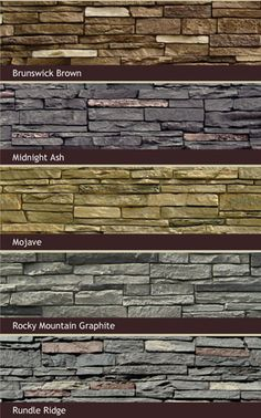 1000 Images About Porch On Pinterest Faux Stone Siding