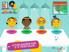 Sharing with Duckie Deck - 6 in 1 Educational Games for Kids Screenshot