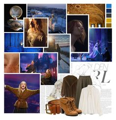 Anastasia (Broadway) // Once Upon A December by auntiewhispers on Polyvore featuring polyvore fashion style Closed Yves Saint Laurent Trasparenze Louis Vuitton Murphy Victoria Beckham clothing