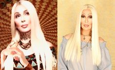 Spot the drag queen: Can you tell which is Cher and which is Chad Michaels?