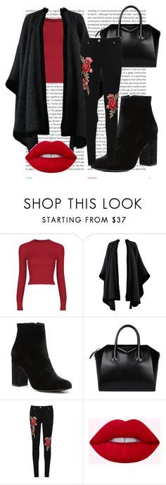 """""""Floral Jeans"""" by buflie ❤ liked on Polyvore featuring Oris, Yves Saint Laurent, Witchery, Givenchy and WearAll"""