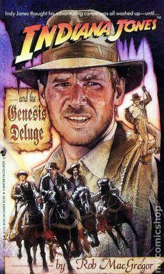 Indiana Jones and the Genesis Deluge - Cover art by Drew Struzan, I presume.
