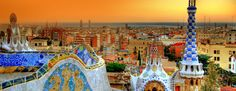 Parc Guell, by Antoni Gaudi. Barcelona, Spain I love Gaudi. Places To Travel, Places To See, Travel Destinations, Europe Places, Travel Tips, Europe Europe, Tourist Places, Travel Plan, Travel Stuff