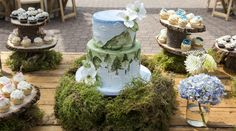 Modern, unique and outdoor themed wedding cake - reception hosted at Grouse Mountain Woodsy Wedding, Dream Wedding, Wedding Things, Engagement Cakes, Wedding Engagement, Mountain Cake, Themed Wedding Cakes, Best Friend Wedding, Grouse