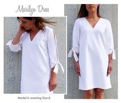 Marilyn PDF pattern <3 Easy sewing project x