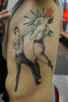 Fist a cuffs Tattoo Picture  Bryan Davis
