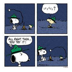 Tuesday with Woodstock and Snoopy