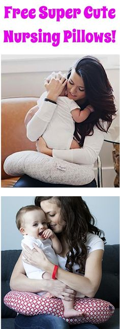 FREE Super Cute Nursing Pillows! {just pay s/h} - these make great Baby Shower gifts, too!