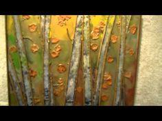 Art Center Morro Bay - International Encaustic Show (July 7 - August 14, 2011) - PART 1 Close-Ups - YouTube