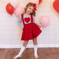 30+ Stylish Girls Valentines Day Dress Ideas Dresses Kids Girl, Toddler Girl Outfits, Kids Outfits, Party Outfits, Quotes Valentines Day, Valentines Day Dresses, Valentine's Day Outfit, Outfit Sets, Baby Boy