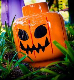 Visit the DUPLO® pumpkin patch for some brick-tastic pumpkins. #BrickorTreat #LEGOLANDFlorida #Halloween