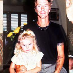 Duff Mckagan and daughter Grace