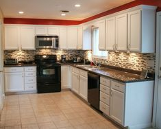 Most kitchen renovations are very expensive, but this trick can make your kitchen look brand new for a fraction of the cost! Here's how to remodel your kitchen on a budget. No red paint though, not again!