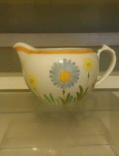 #Susie #cooper jug hand #painted -art deco!!!,  View more on the LINK: http://www.zeppy.io/product/gb/2/121807450096/