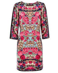 beautiful print (warehouse dress)