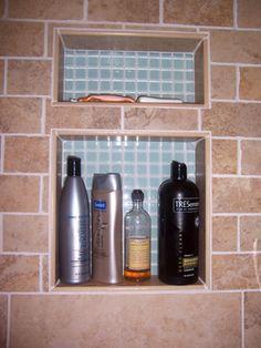 Bathroom Niche Shelves multi shower shampoo niche shelf | bath remodeling ideas