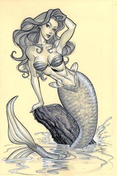 Well, she looks like Ariel :]