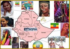 Ethiopia is NOT a nation! its a multi-ethnic State. Over +80 tribes live in the states boundary. These listed in the picture are just the most popular/recognizable and dominant found within Ethiopia.