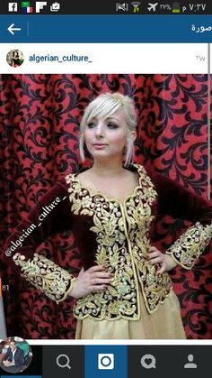 فتلة*كراكو*لباس جزائري Algerian fashion*karakou