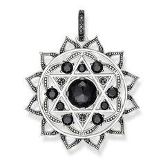 THOMAS SABO Fine Jewellery (SS) Fine Jewelry Sterling Silver Pendant Heart chakra