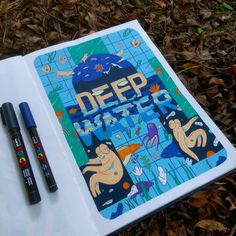 Trippy Doodles That Move in Mysterious Ways | Doodlers Anonymous Marker Art, Pen Art, Molotow Marker, Art Sketches, Art Drawings, Moleskine, Posca Art, Nature Posters, Guache