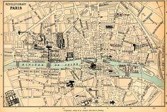 Street Maps of Paris France | Mapping Revolutionary Paris: 18th Century France