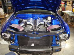 Mercedes Benz C300, Aston Martin V12, V12 Engine, Engine Swap, Car Mods, Dream Cars, Mustang, Engineering, Mustangs