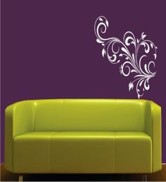 This wall decal will make a stylish addition to any living space. Vinyl wall art is the hottest new trend in home decoration and can give your home or office a fun modern look within a couple of minutes. These decals are made of high quality, self-adhesive vinyl which is durable, waterproof and does not chip or crack and can be applied to any smooth, flat surface like smooth painted walls, windows, doors, ceilings, tables, glass, metals, mirrors, kitchen/bathroom tiles, refrigerator etc.