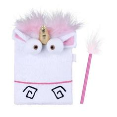Despicable Me™ Unicorn Plush Journal