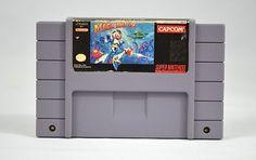 Mega Man X SNES Game Cartridge CAPCOM Super Nintendo