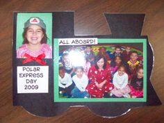Super cute keepsake for your students that participated in the Polar Express Day!