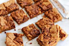 Milk and Honey: Cookie Butter Bars with Crumbled Cookie Topping