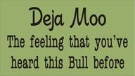 why do we hear so much moo these days??