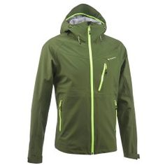 b183d8e4c MH500 Men s Waterproof Mountain Hiking Rain Jacket - Green Herren Style