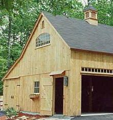 pole barn garage apartment | 001) 24\' x 30\' garage pole building ...