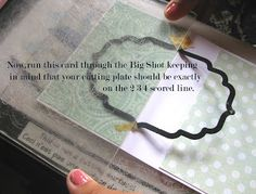 Crafters Corner : Flip-Card Tutorial using partial die-cutting! I need to remember this for my stampin up class