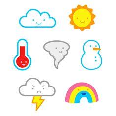 Weather stickers - Helen Tseng
