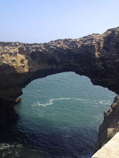 natural bridge...san sebastian spain