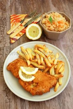 Yummy Food, Tasty, Polish Recipes, Baked Salmon, Fish Dishes, Risotto, Food And Drink, Menu, Cooking Recipes