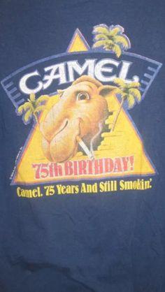 Camel. 75 years and still smokin'. ~ T-shirt image